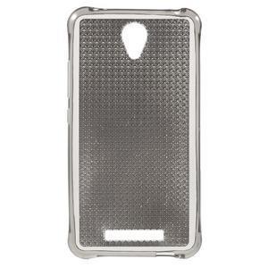 Diamonds gelový obal na Xiaomi Redmi Note 2 - šedý - 1