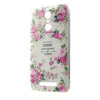 Softy gelový obal na Xiaomi Redmi Note 3 - květiny - 1/5