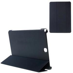Trifold polohovatelné pouzdro na Samsung Galaxy Tab A 9.7 - tmavěmodré - 1