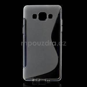 Gelové s-line pouzdro na Samsung Galaxy A3 - transparentní - 1