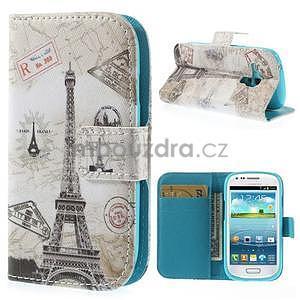 Pouzdro na mobil Samsung Galaxy S3 mini - Eiffelka - 1