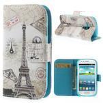 Pouzdro na mobil Samsung Galaxy S3 mini - Eiffelka - 1/7