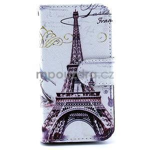 Eiffel peněženkové pouzdro na mobil Samsung Galaxy S4 mini - 1