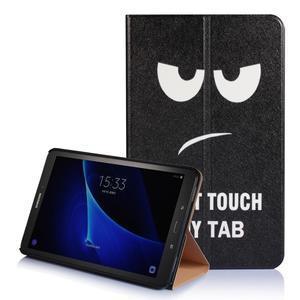 Picture polohovatelné pouzdro na Samsung Galaxy Tab A 10.1 (2016) - nedotýkat se - 1
