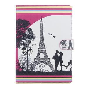 Emotive pouzdro na tablet Samsung Galaxy Tab S2 9.7 - láska pod Eiffelkou - 1