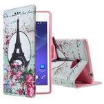 Peněženkové pouzdro na mobil Sony Xperia M2 - Eiffelova věž - 1/5