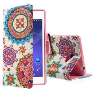 Peněženkové pouzdro na mobil Sony Xperia M2 - mandala - 1