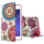Peněženkové pouzdro na mobil Sony Xperia M2 - mandala - 1/5