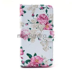 Pouzdro na mobil Sony Xperia Z1 Compact - květiny - 1