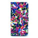 Pouzdro na mobil Sony Xperia Z1 Compact - geometircké vzory - 1/5
