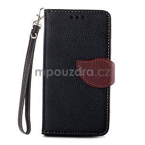 Leaf peněženkové pouzdro na Sony Xperia Z3 Compact - černé - 1