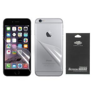 Fólie na displej a na zadní kryt pro iPhone 6 Plus a 6s Plus