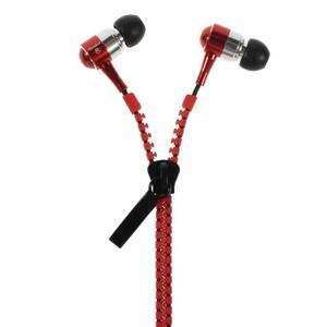 Zippy pecková sluchátka pro poslech hudby - červená - 1