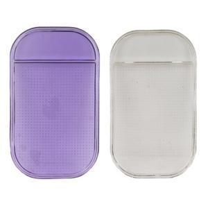 Protiskluzová podložka do auta na mobil - fialová - 1