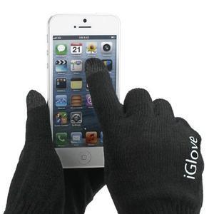 iGlove rukavice na mobil - černé - 1