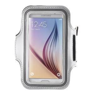 Fittsport pouzdro na ruku pro mobil do rozměrů 143.4 x 70,5 x 6,8 mm - bílé - 1