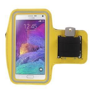 Gym běžecké pouzdro na mobil do rozměrů 153.5 x 78.6 x 8.5 mm - žluté - 1
