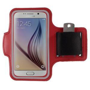 Gyms pouzdro na běhání pro mobily do 143 x 70 mm - červené - 1