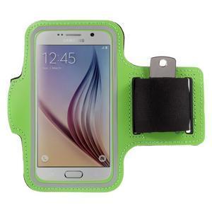 Gyms pouzdro na běhání pro mobily do 143 x 70 mm - zelené - 1