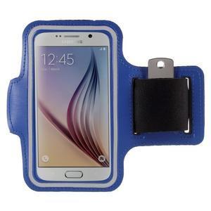 Gyms pouzdro na běhání pro mobily do 143 x 70 mm - tmavě modré - 1