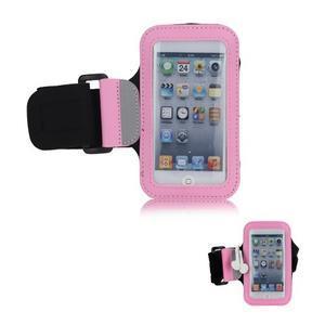 JogyFit sportovní pouzdro na telefon do velikosti 115 x 60 mm - růžové - 1