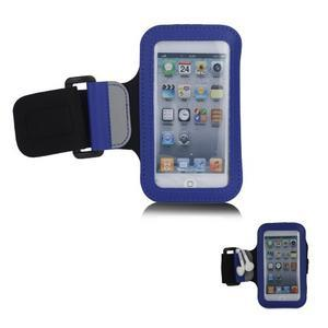 JogyFit sportovní pouzdro na telefon do velikosti 115 x 60 mm - modré - 1