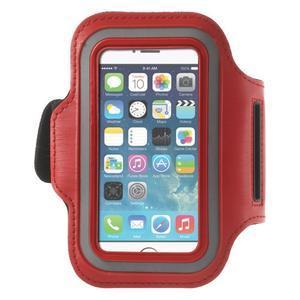 Jogy běžecké pouzdro na mobil do 125 x 60 mm - červené - 1