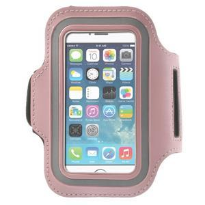 Jogy běžecké pouzdro na mobil do 125 x 60 mm - růžové - 1