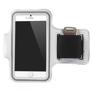 Gymfit sportovní pouzdro pro telefon do 125 x 60 mm - bílé - 1