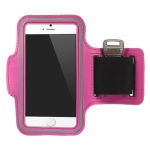 Gymfit sportovní pouzdro pro telefon do 125 x 60 mm - rose - 1