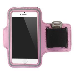 Gymfit sportovní pouzdro pro telefon do 125 x 60 mm - růžové - 1