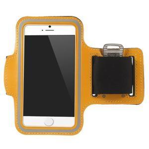 Gymfit sportovní pouzdro pro telefon do 125 x 60 mm - oranžové - 1