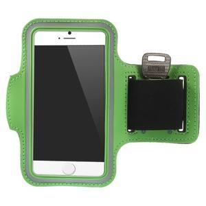Gymfit sportovní pouzdro pro telefon do 125 x 60 mm - zelené - 1