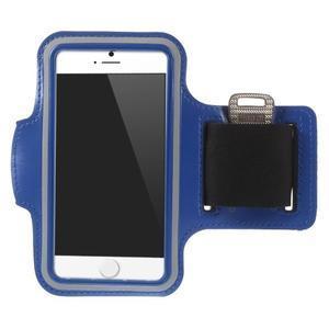 Gymfit sportovní pouzdro pro telefon do 125 x 60 mm - tmavě modré - 1