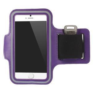 Gymfit sportovní pouzdro pro telefon do 125 x 60 mm - fialové - 1