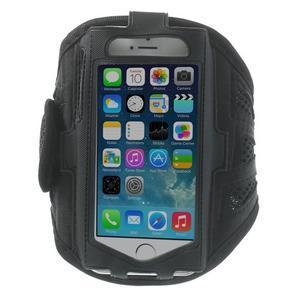 Absorb sportovní pouzdro na telefon do velikosti 125 x 60 mm - černé - 1