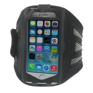 Absorb sportovní pouzdro na telefon do velikosti 125 x 60 mm - šedé - 1