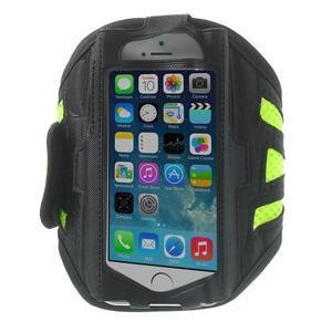 Absorb sportovní pouzdro na telefon do velikosti 125 x 60 mm - zelené - 1