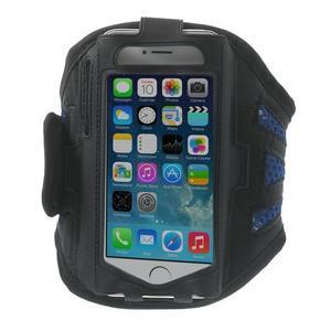 Absorb sportovní pouzdro na telefon do velikosti 125 x 60 mm - modré - 1