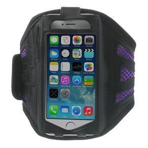 Absorb sportovní pouzdro na telefon do velikosti 125 x 60 mm - fialové - 1