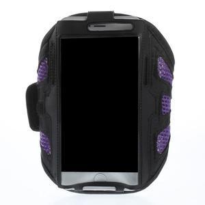 Fit pouzdro na mobil až do velikosti 160 x 85 mm - fialové - 1