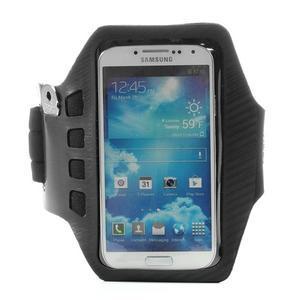 Sports Gym pouzdo na ruku pro velikost mobilu až 140 x 70 mm - černé - 1