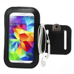 FitGym pouzdro na ruku pro telefon až do velikosti 145 x 73 mm - černé - 1