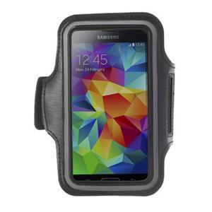 Fitsport pouzdro na ruku pro mobil do velikosti až 145 x 73 mm - černé - 1
