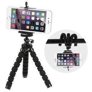 Trojnožkový stativ pro mobilní telefony - černý - 1