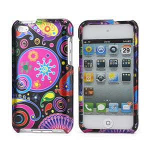 Plastové pouzdro na iPod Touch 4 - barevné vzory - 1