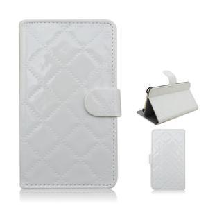 Luxury univerzální pouzdro na mobil do 148 x 76 x 21 mm - bílé - 1