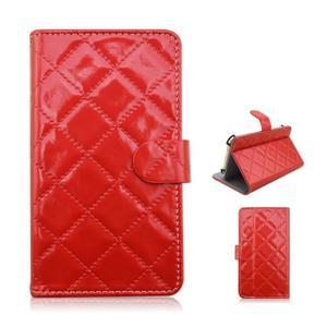Luxury univerzální pouzdro na mobil do 148 x 76 x 21 mm - červené - 1