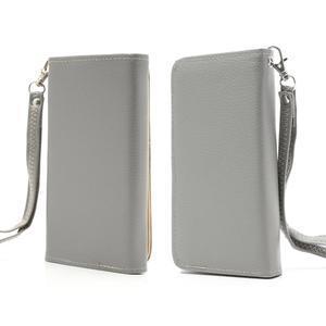 Softy univerzální pouzdro na mobil do 137 × 71 × 8,6 mm - šedé - 1
