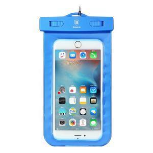 Base IPX8 vodotěsný obal na mobil do 158 x 78 mm - modrý - 1